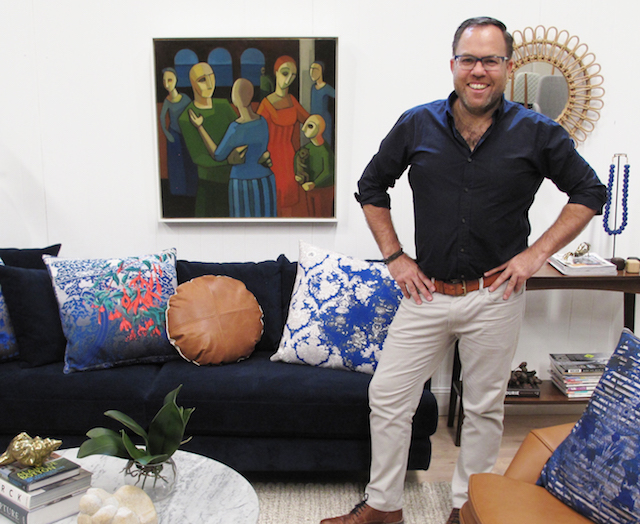 Covet my coffee table with interior designer james treble for Channel 10 the living room facebook