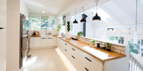 A Sydney blogger's light-filled and lovely IKEA kitchen