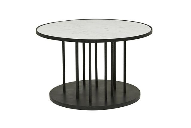 Luxury Vionnet Vertical Round Coffee Table