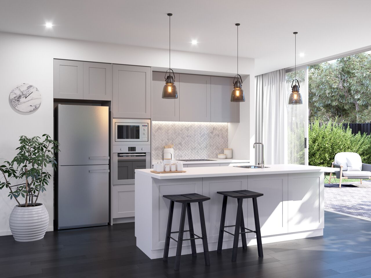 The 3 Must Dos When Planning Your Kitchen Island The Interiors Addict