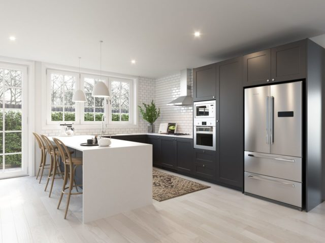 Ideal Informal meals catching up on a bit of work or hanging out with a glass of red are almost daily rituals in a busy kitchen hub