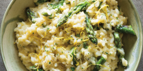 Foodie Friday: Creamy lemon risotto with asparagus