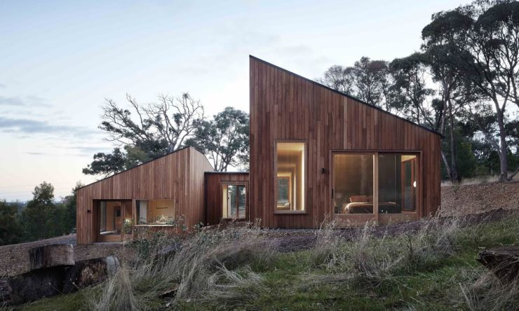 Inside a raw and minimalist home in country Victoria