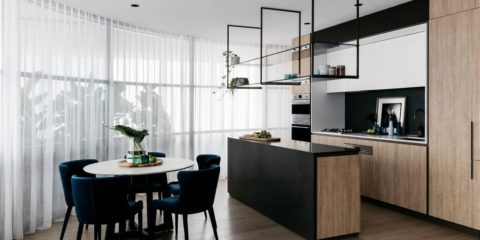 The Block's Shannon Vos styles new Sydney apartment complex