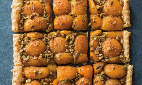 Foodie Friday: Apricot pistachio tart