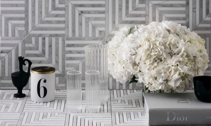 Stylist Steve Cordony releases marble mosaic tile collection