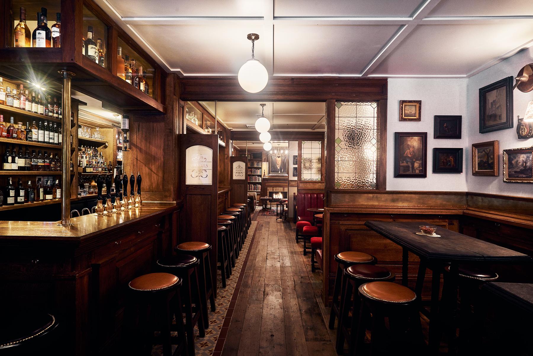 sydney u0026 39 s new british pub interior created by film set