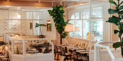 Be transported to the Mediterranean in Merivale's latest venue