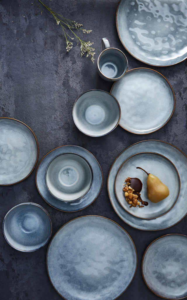If you buy one thing from this new touch of luxe collection make it the reactive glaze dinnerware. It\u0027s absolutely gorgeous; the handcrafted look yet ... & What I\u0027m coveting from Target\u0027s luxe look February homewares - The ...
