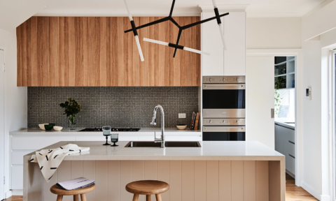 Real reno: This 1980's Melbourne overhaul is a riot of texture