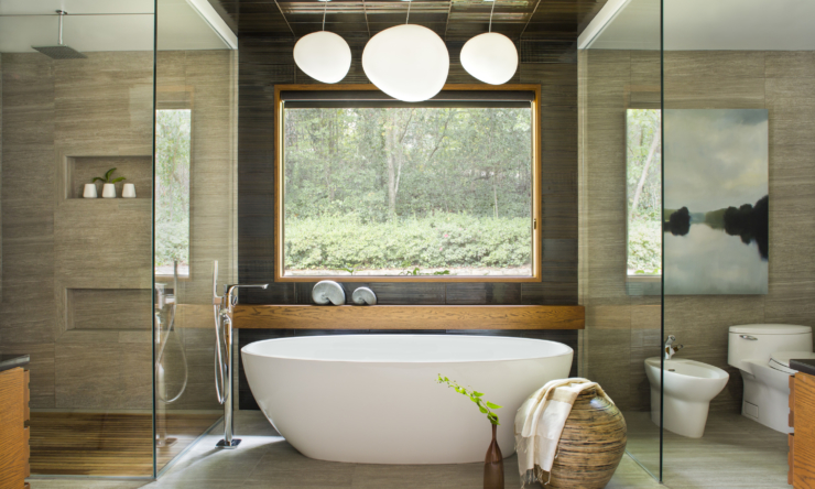 The top four bathroom trends for 2018