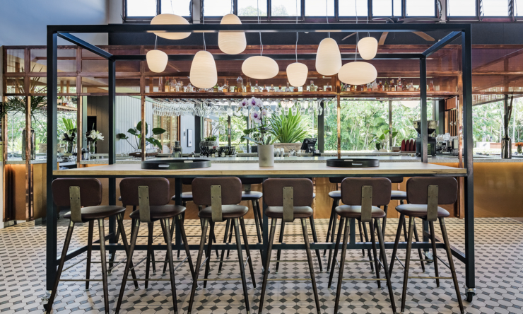 Colonial vibes: Check out The Byron at Byron's new look
