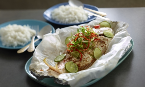 Foodie Friday: Steamed chilli and lime fish