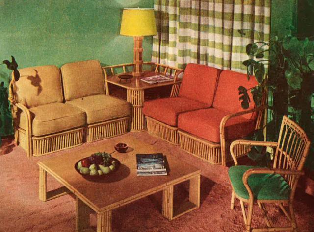 1950's lounge room