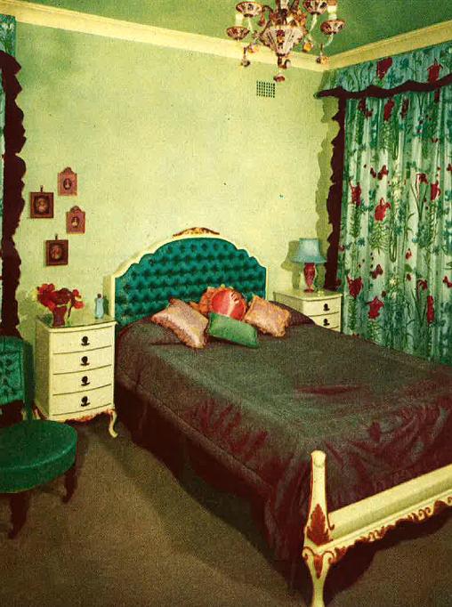 1950's bedroom