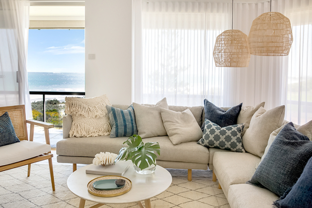Coastal lounge room