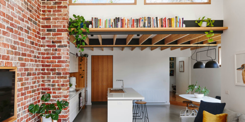 Century-old cottage transformed with light & greenery