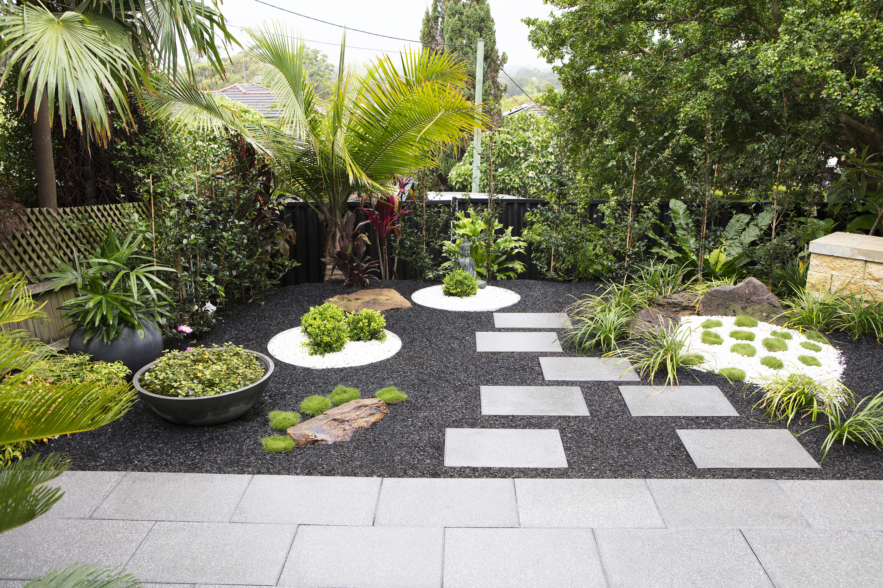 Aussie backyards inspired by overseas holiday spots - The ... on Backyard Landscape  id=82822