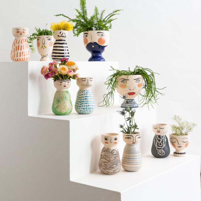 Jones Amp Co S Fun New Hand Painted Ceramics The Interiors
