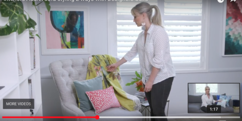 Win a $1000 Designers Guild shopping spree! + New video