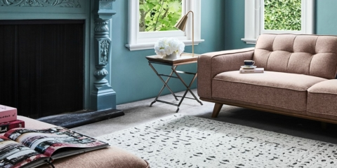 The new it rugs are all about texture!