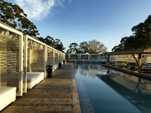 The 'Best Pool' award went to Elements of Byron in Byron Bay.