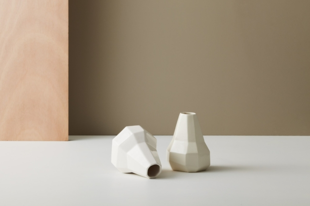 Gidon Bing's faceted vases