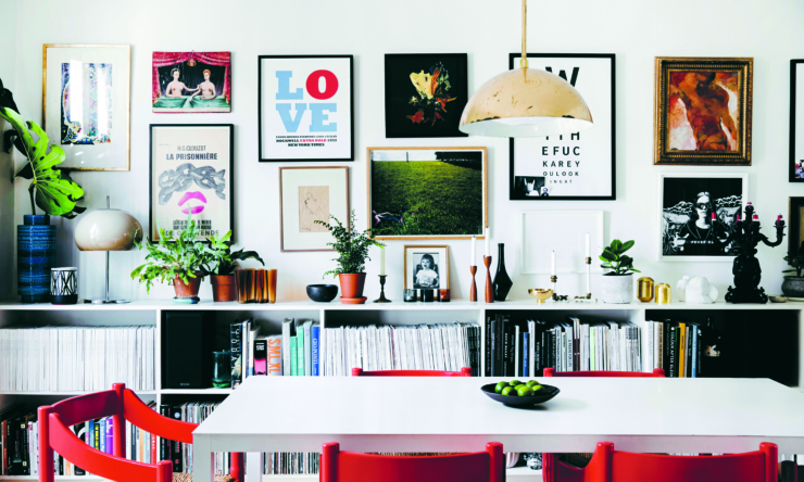 This is Home gallery wall