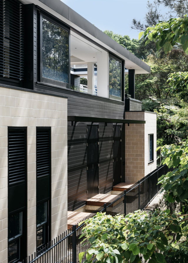 Woollahra house from the side