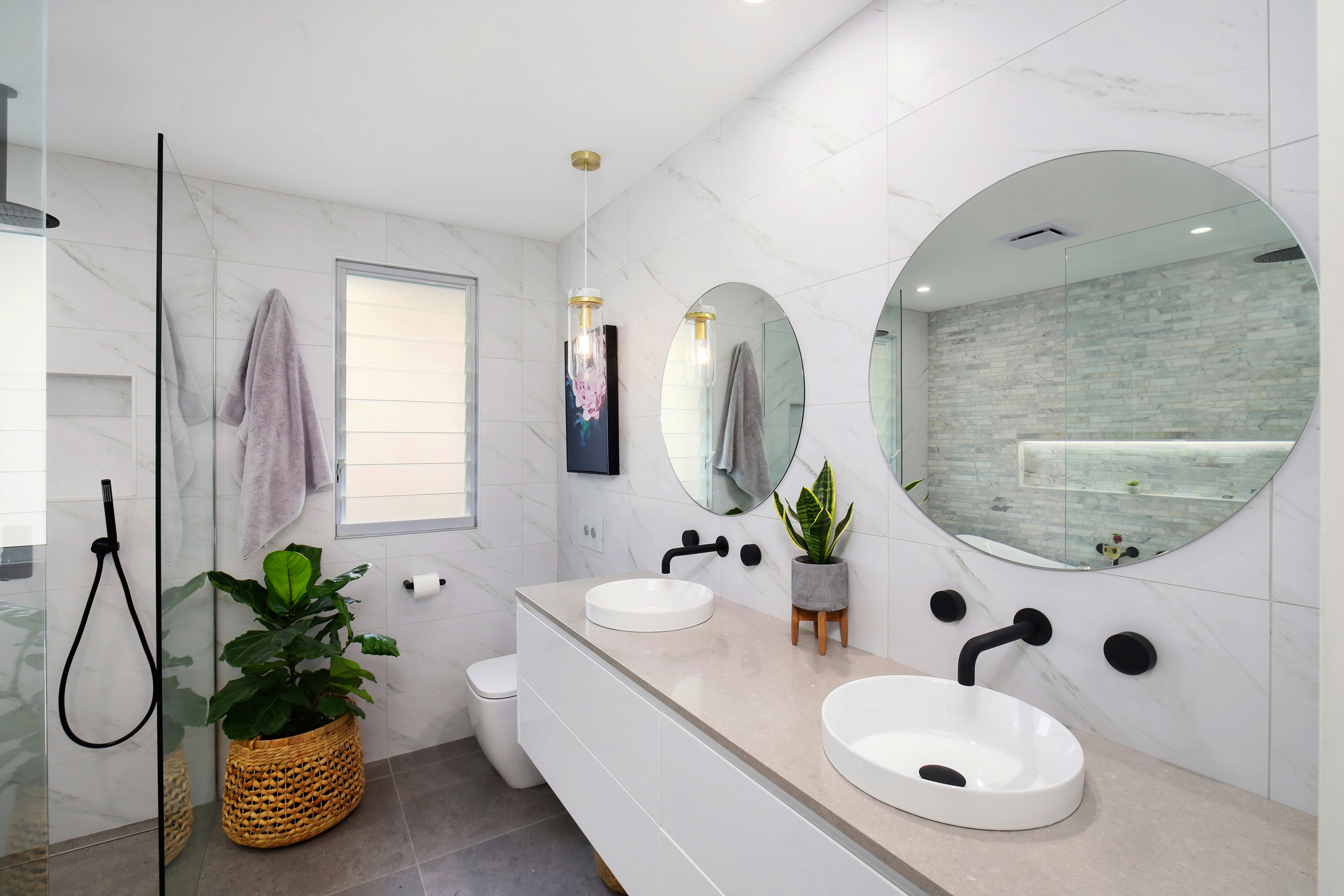 Budget Bathroom Renovation Ideas Luxe Look For Less The
