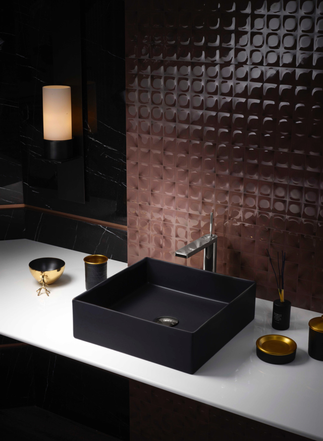 Kohler Mica basin in black