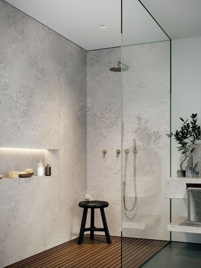 Caesarstone's new 'Airy Concrete' design