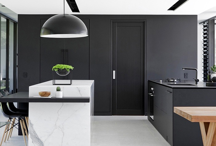 Trending on Pinterest: Monochrome kitchens & bathrooms ...