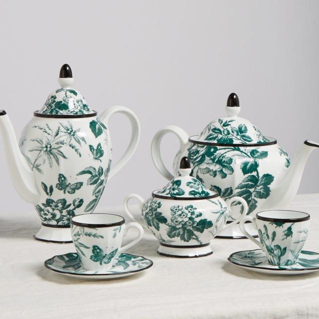 Gucci tea set