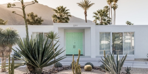 Palm Springs door tour: Art for architecture lovers
