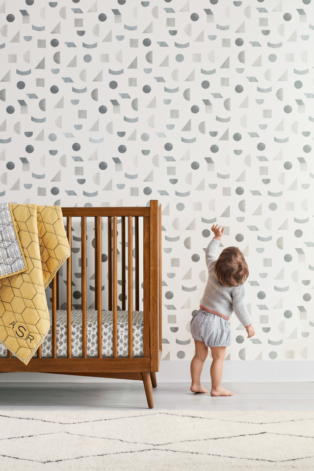 west elm x pbk Mid-Century convertible cot in acorn