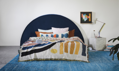 Create Estate half moon bed