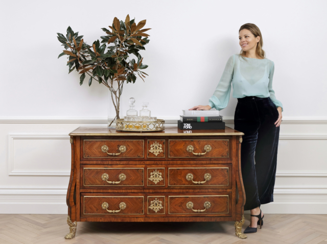 The Find Antiques creative director Danielle Rusko