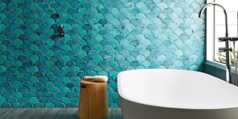 Fish scale tiles: some of our favourite examples