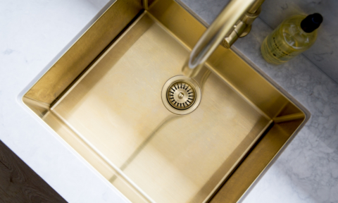 Bunnings gold sink