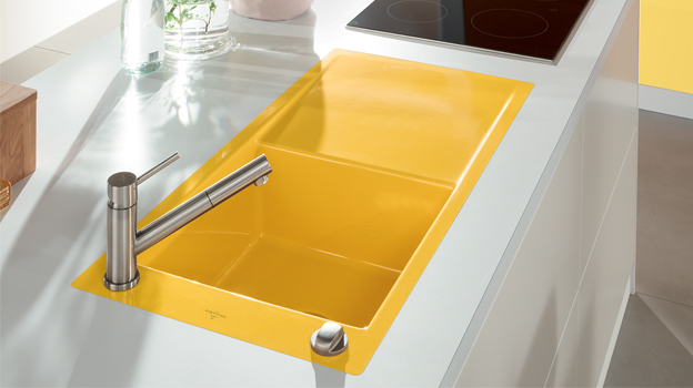 Coloured kitchen sinks: our top five statement sinks - The Interiors ...