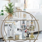 Pinterest round bar cart