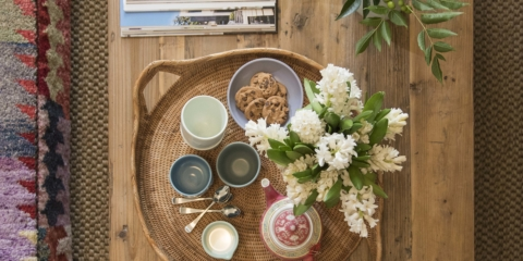 How to style your coffee table: secrets from a new book