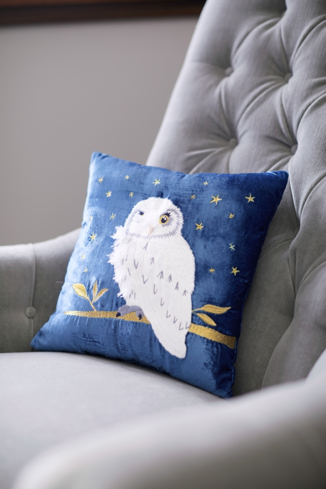 Owl cushion, $59