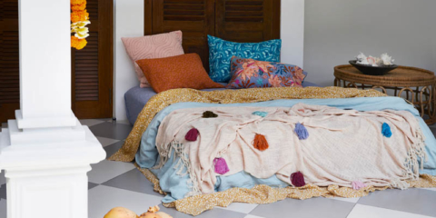 New Sage x Clare collection inspired by boho Bali villa