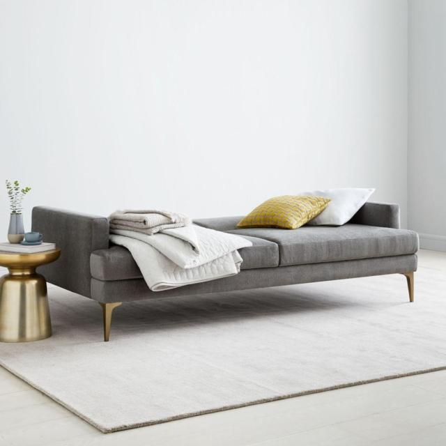 west elm andes futon