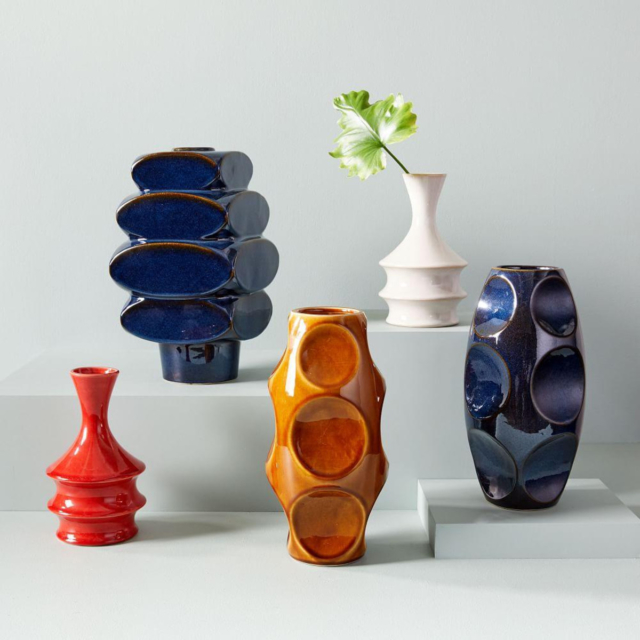 west elm modernist vases