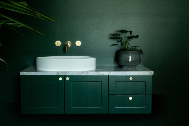 Highgrove bathrooms trends - bold colour