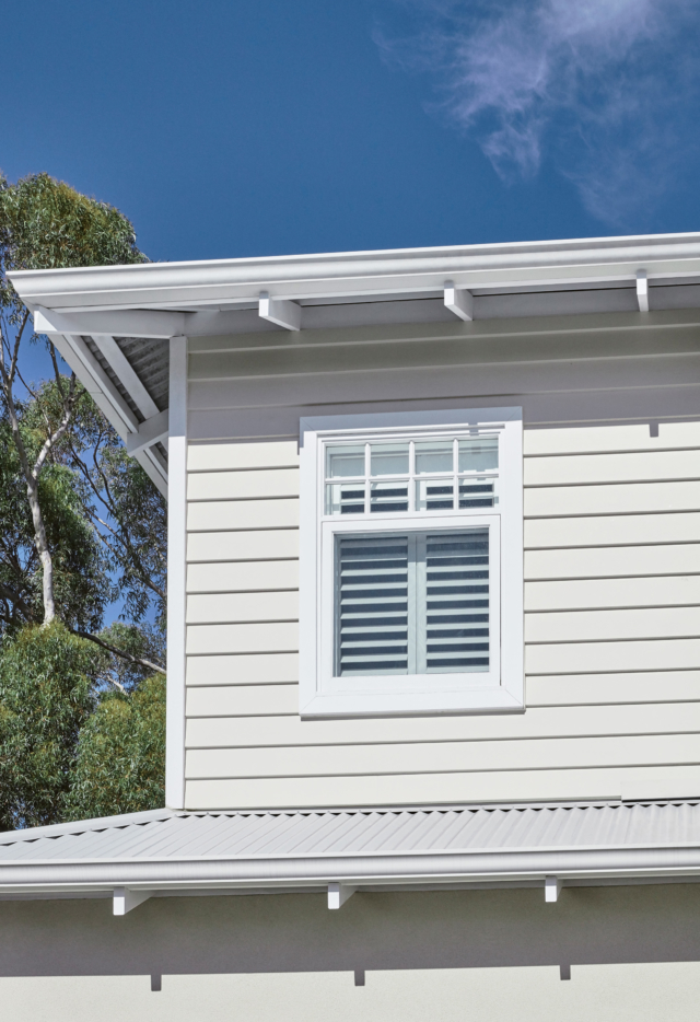 Linea weatherboard cladding