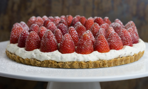Foodie Friday: Kirsten Tibballs' strawberry tart